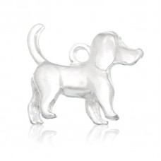 Bedel hond staand glad model 16 x 15 mm