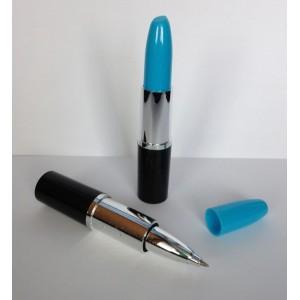 Lipstick pen blauw , zwartschrijvend