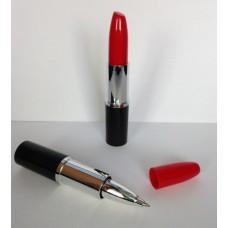 Lipstick pen rood , zwartschrijvend
