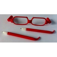 Brilpen rood