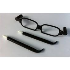 Brilpen zwart