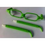 Brilpen groen